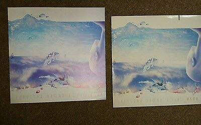 "RUSH ""Grace Under Pressure"" NM PROMO  LP w RARE PROMOTIONAL 1-sided 12x12 flat"