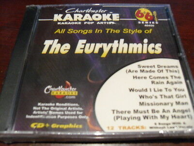 Chartbuster 6+6 Karaoke Pop Disc 40456 The Eurythmics Cd+G Multiplex