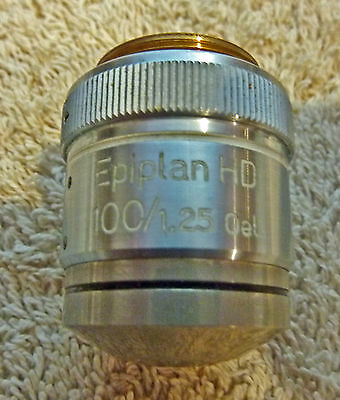 ZEISS EPIPLAN-HD 100/1,25 Oel- BRIGHT FIELD MICROSCOPE LENS, 4117298