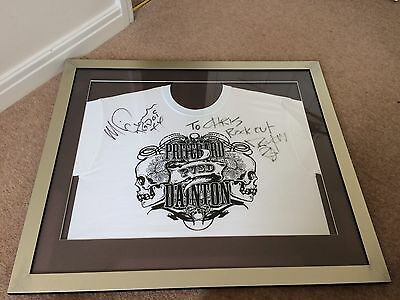 Dirty Sanchez SIGNED Framed T-shirt