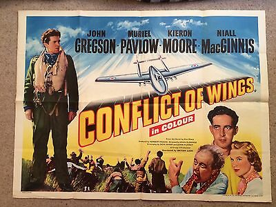 Conflict Of Wings Quad Poster Rare