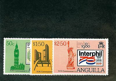 Lot of 30 Anguilla MH Mint Hinged Stamps #94000 X
