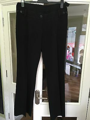 Maternity Black Work Trousers & Skirt Bundle Size 14
