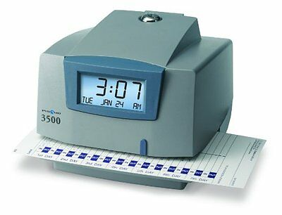 Pyramid M3500 Electronic Document Time Recorder - Card Punch/stampunlimited