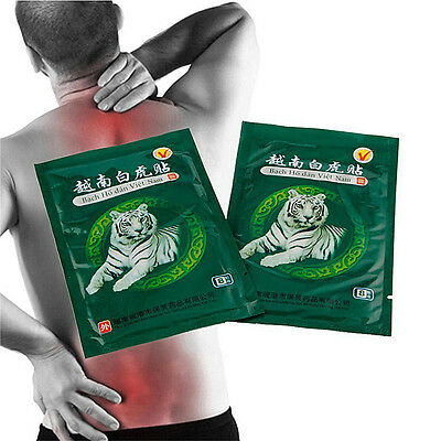 40pc Vietnam White Tiger Balm Plaster Pain Relief Patch Relief Arthritis Pain ES