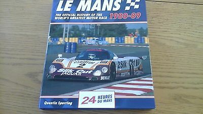 LE MANS 1980 to 89 OFFICIAL MOTORSPORT BOOK NEW CONDITION