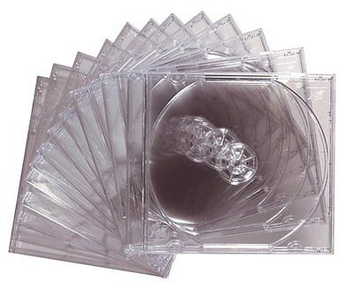 Maxell Cd/dvd Jewel Cases Cd-360 - Book Fold - Plastic - Clear - Cd (190069)