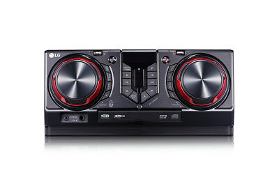 Lg Mini Hi fi Bluetooth Home Stereo FM CD MP3 Wifi 720W Karaoke USB Aux CJ45