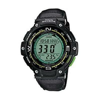 Casio Sgw100b-3a2 Smart Watch - Wrist - Altimeter, Barometer, (sgw100b3a2)