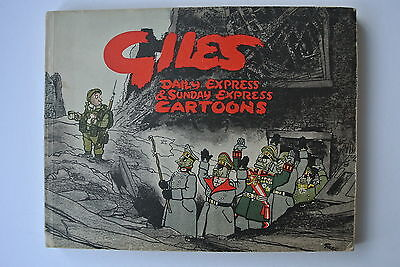 Giles Daily Express & Sunday Cartoons 1st Annual No 1 First 1946 Unclipped