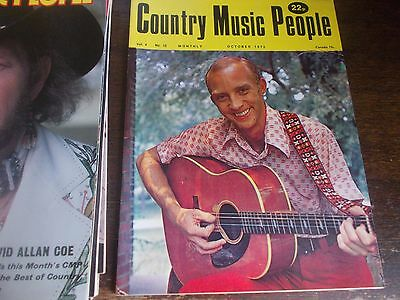 Country Music People Magazine Oct 1973 Vernon Oxford Cover