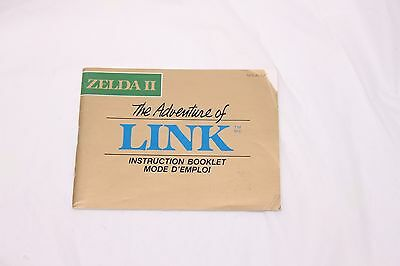 Nintendo NES - Zelda 2 The Adventure Of Link  - Manual Only