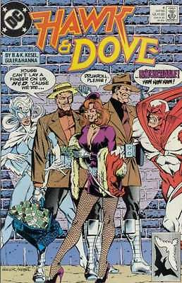 Hawk and Dove (1989 series) #4 in Very Fine - condition. FREE bag/board
