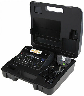Brother Pc-connectable Label Maker With Color Display And Carry Case (ptd600vp)