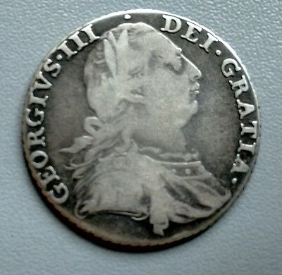 King George Iii Shilling  1787  (324)