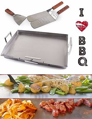 Flat Top Griddle Stainless Steel Teppanyaki Grill Set Universal Commercial Large