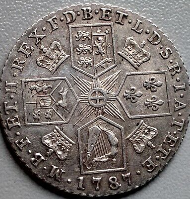 High Grade King George Iii Shilling 1787  (367)
