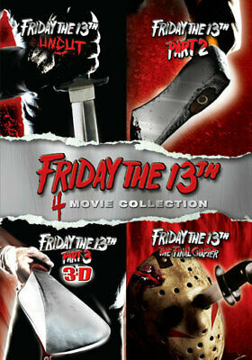 Friday the 13th, Parts 1-4 (DVD,2011)