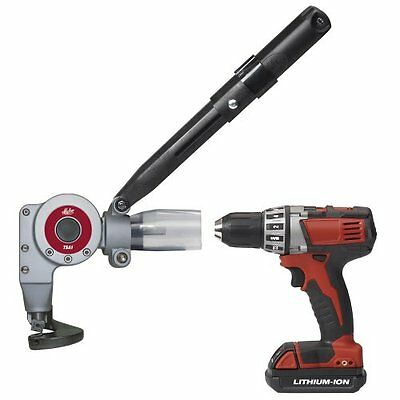 Malco Products TSA1 16 Gauge Metal Cutting Turboshear Drill Attachment