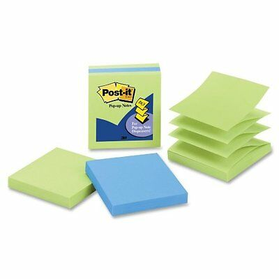 """Post-it Adhesive Note - Fanfold, Pop-up - 3"""" X 3"""" - 300 / Pack (33013AULE)"""