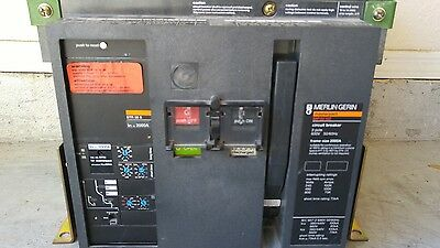 Merlin Gerin Masterpact Mp20H2-3P-2000A Str38S Frame Thermal Unit And Breaker