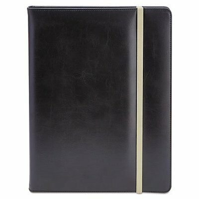 Universal Office Products 32663 Padfolio, 8 1/2 X 11, Vinyl, Black