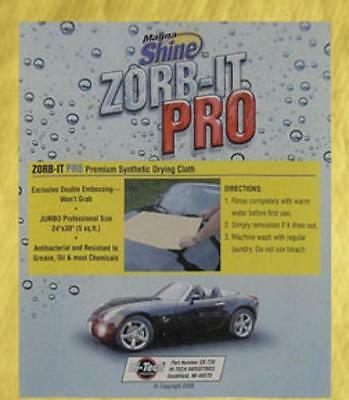 "Hitech Industries HIT-SX-720T Zorb-it Pro Premium Drying Cloth, 24"" X 30"""