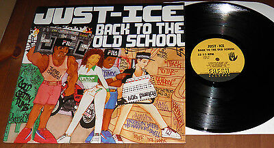 Just~Ice - Back To Old School-USA VINYL Fresh LP-Hip Hop Rap Mantronik-1986-HEAR