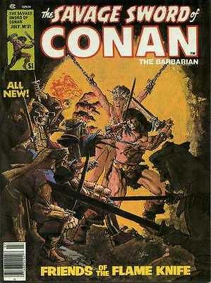 Savage Sword of Conan (1974 series) #31 in Very Fine + condition
