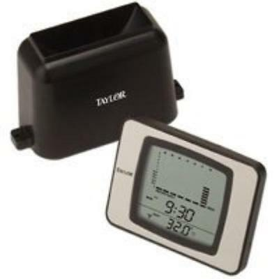 Taylor 2755 Wireless Rain Guage With Themometer