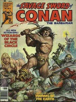 Savage Sword of Conan (1974 series) #16 in Very Fine + condition