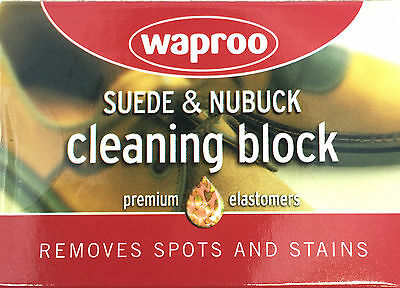 Waproo Suede and Nubuck Cleaning Block - Removes Marks fron Suede & Nubuck !