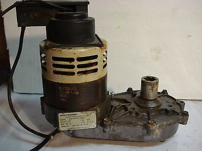 USED Scotsman - 02-4399-21,  1045829,  A37707-021  Assembly Gearmotor 1/10H