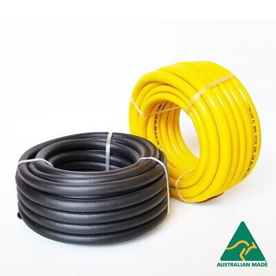 "Fire Hose 19mm x 50 metres - UV Stabilised Ribbed Australian 3/4"" Fire Reel Hose"