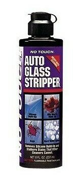 No Touch GS8 Auto Glass Stripper - Auto Glass Cleaner 8 oz., New, Free Shipping