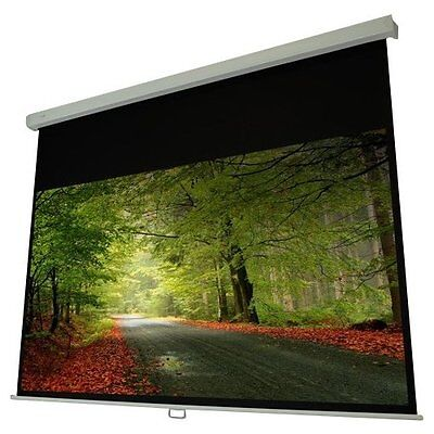 """Elunevision Atlas Manual Projection Screen - 120"""" - 16:9 - Wall/ceiling Mount -"""