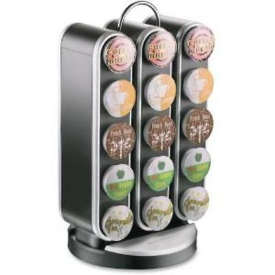 Mind Reader Vortex 30-cup Coffee Carousel - 30 Compartment[s] - Black - 1each