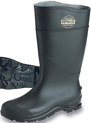 Honeywell 1882110 Ct Safety Knee Boot With Steel Toe, Black, Pair