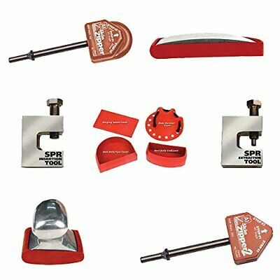 Steck Manufacturing 21899 Al Door Skin And Self Piercing Rivets Bundle Pack