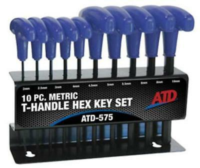 Rel Products, Inc. ATD-575 10 Pc. Metric T-handle Hex Key Set