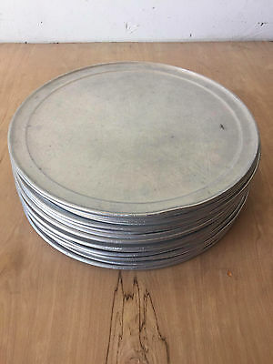 Aluminum 16-inch Pizza Tray Lot (26 pieces)