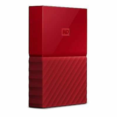 Western Digital WDBYFT0020BRD-WESN 2tb My Passport Ultra Red (wdbyft0020brdwesn)
