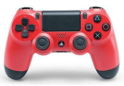 PS4 DualShock 4 Wireless Controller (magma red) (PlayStation 4)