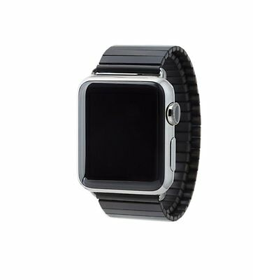 Rilee And Lo XW24M40LBL Black Band 42mm Apple Watch Strp M/l Stainless Steel