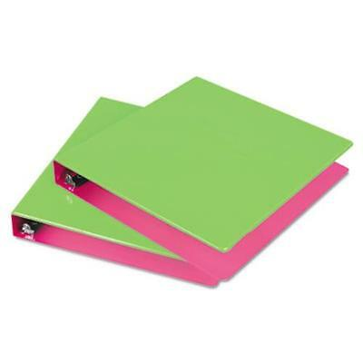 """Samsill Fashion Two-tone Round Ring Binders - 1"""" Binder Capacity - Letter -"""