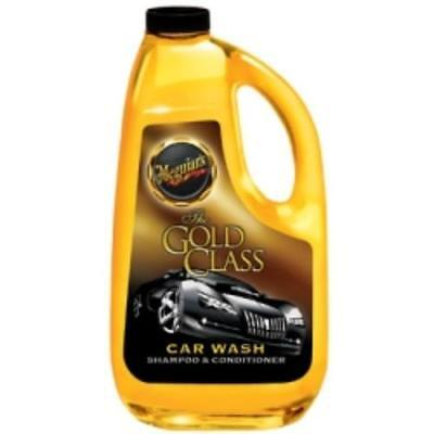 Meguiars G7164 Gold Class Car Wash Shampoo And Conditioner, 64 Oz Bottle