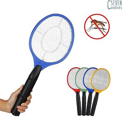New Electric Fly Insect Swatter Swat Bug Mosquito Wasp Zapper Killer Electronic