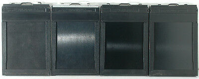 four Graflex Graphic 4 x 5 inch Sheet Film Holders  #3
