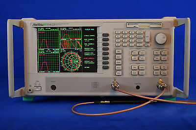 Anritsu MS4622A Vector Network Measurement System, 10 MHz - 3 GHz