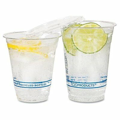 ECO-PRODUCTS,INC. EPCR12 Recycled Content Clear Plastic Cold Drink Cups, 14 Oz.,